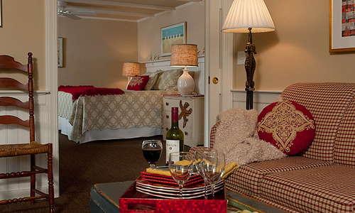 King Bedroom Nauset Suite
