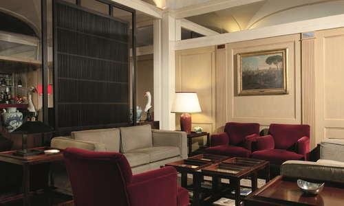 Part of Hotel dei Borgognoni Bar area, newar the Lobby