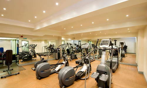 Basement Gym for residents only