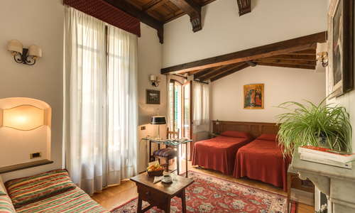 Superior room with patio Doubler or Twin beds