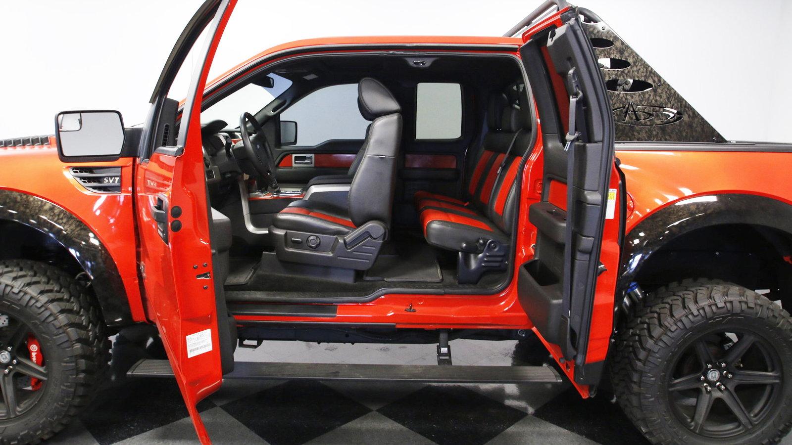Daily Slideshow Molten Orange Raptor Takes You Off Road Ford Trucks
