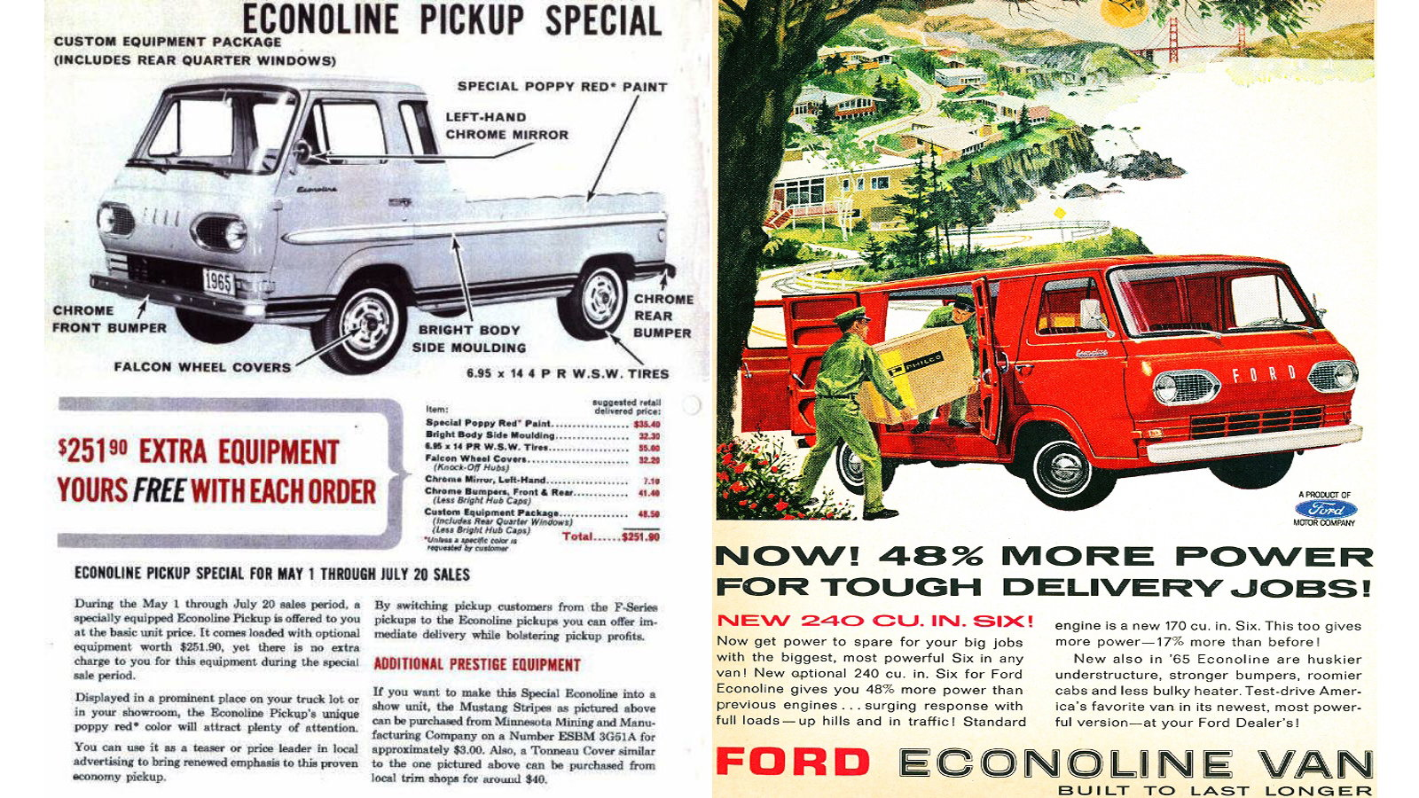 8 Facts about the 1965 Ford Econoline Spring Special Truck