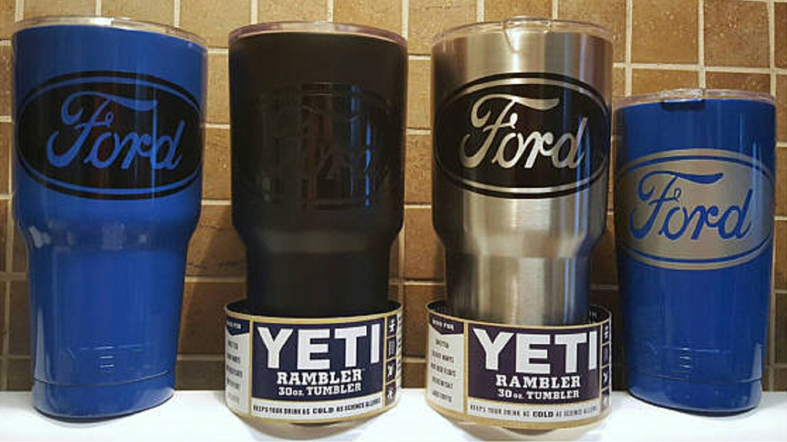 A Ford Yeti cup to keep his/her coffee hot longer.