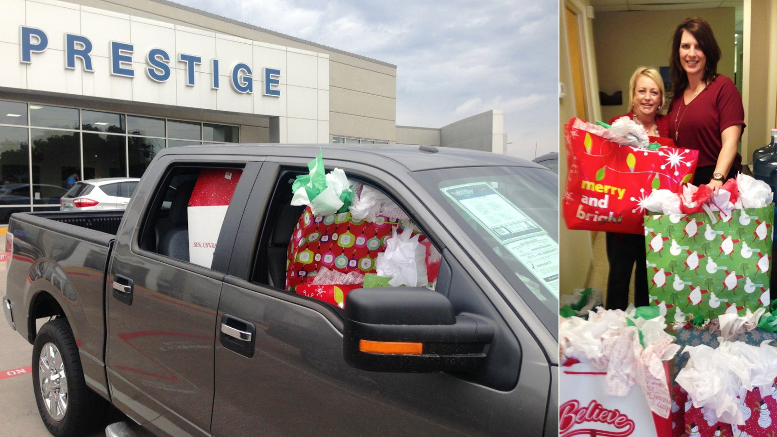 Prestige Ford Helps Domestic Violence Victims