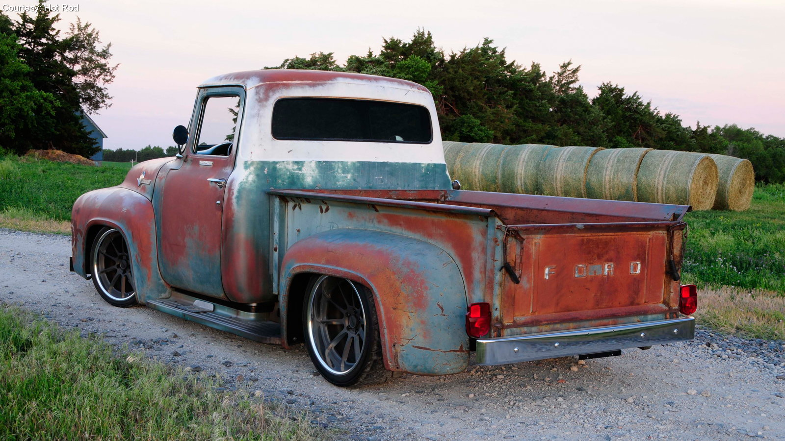 Perfectly Patina-ed F-100 is All New Underneath
