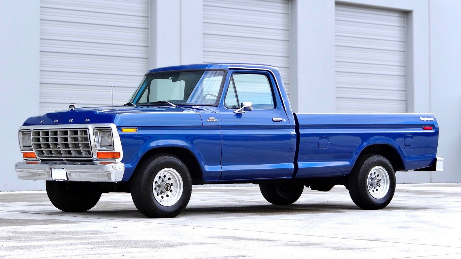 Clean 1979 Ford F-150 Has All the Right Stuff