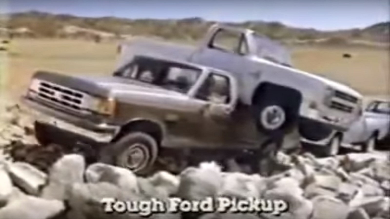 Ford Hauls a Chevy While Towing a Dodge and GMC