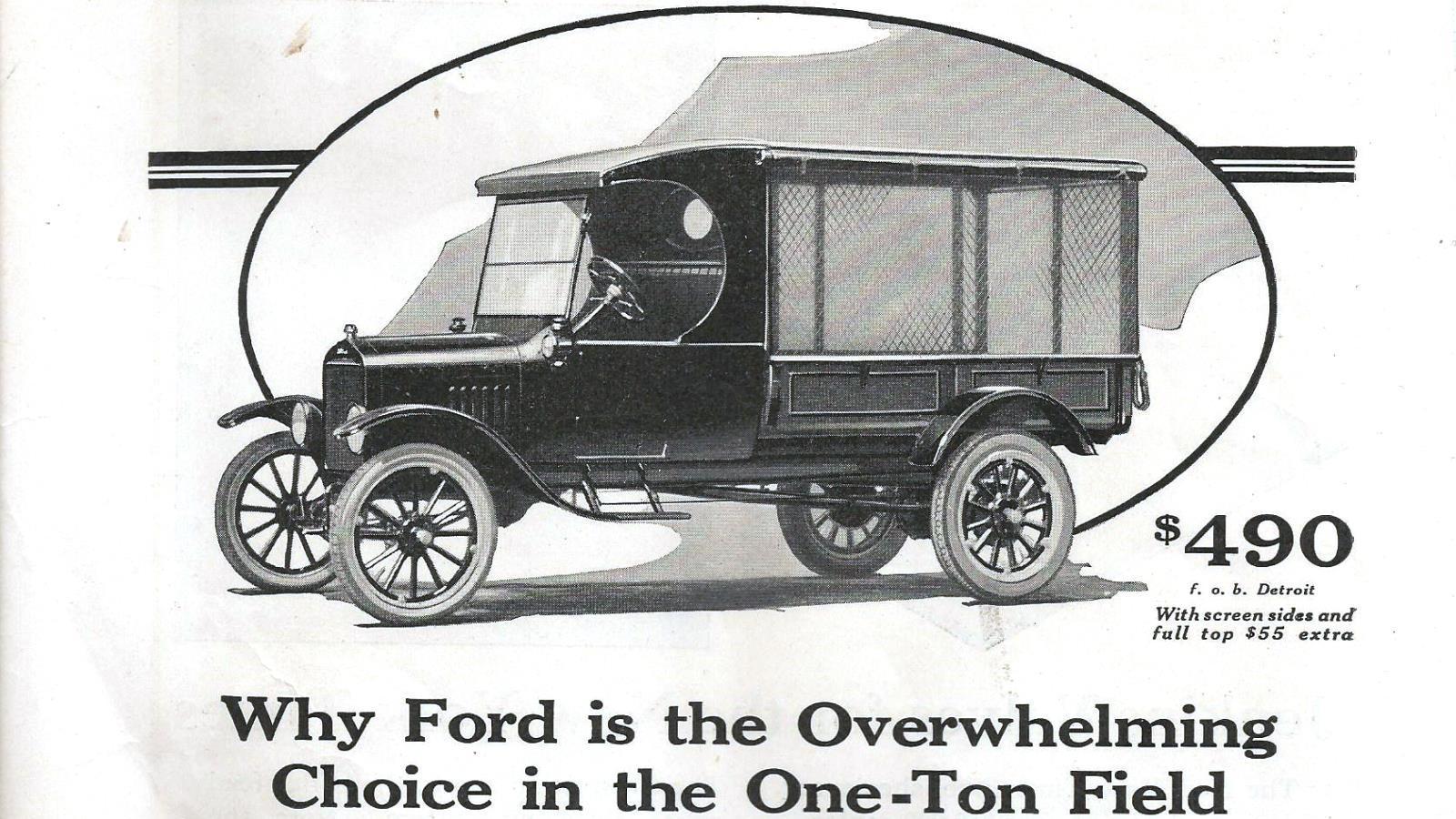 1924 Ford Model TT Truck