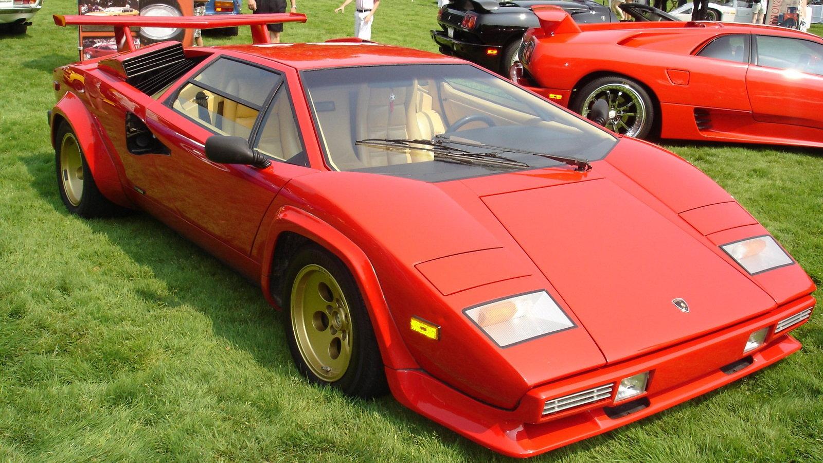 1982 Lamborghini Countach LP500S