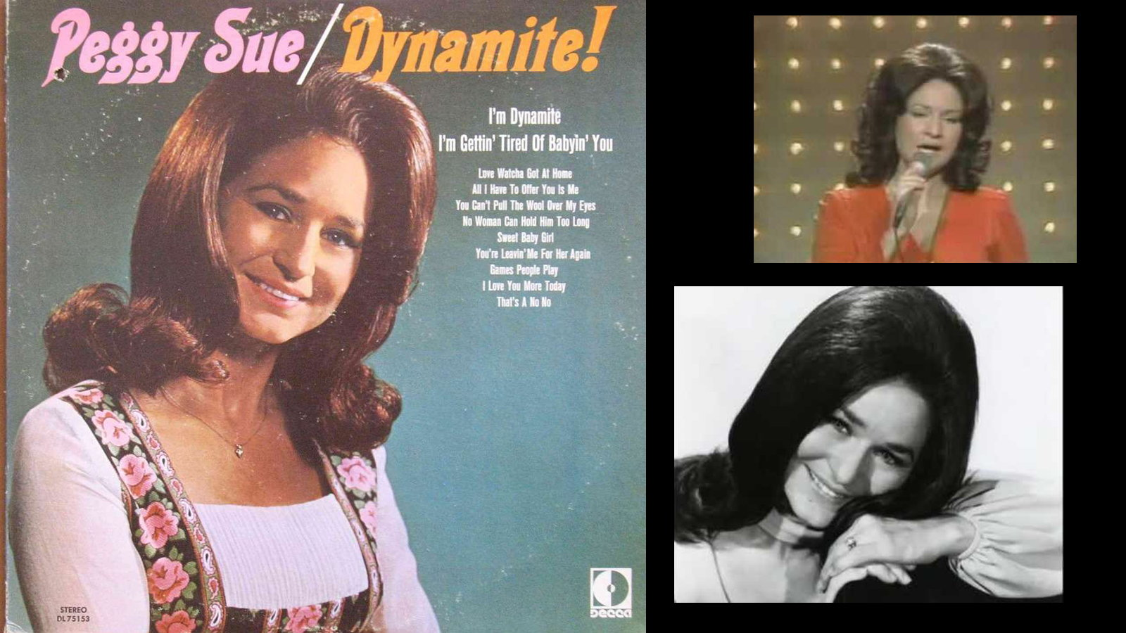Peggy Sue Wright: I'm Dynamite