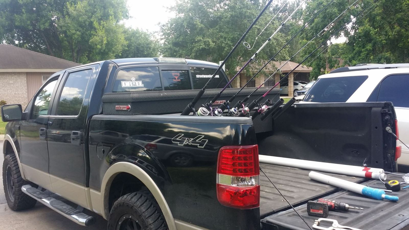 Ford Truck, Fishing, mods, upgrades