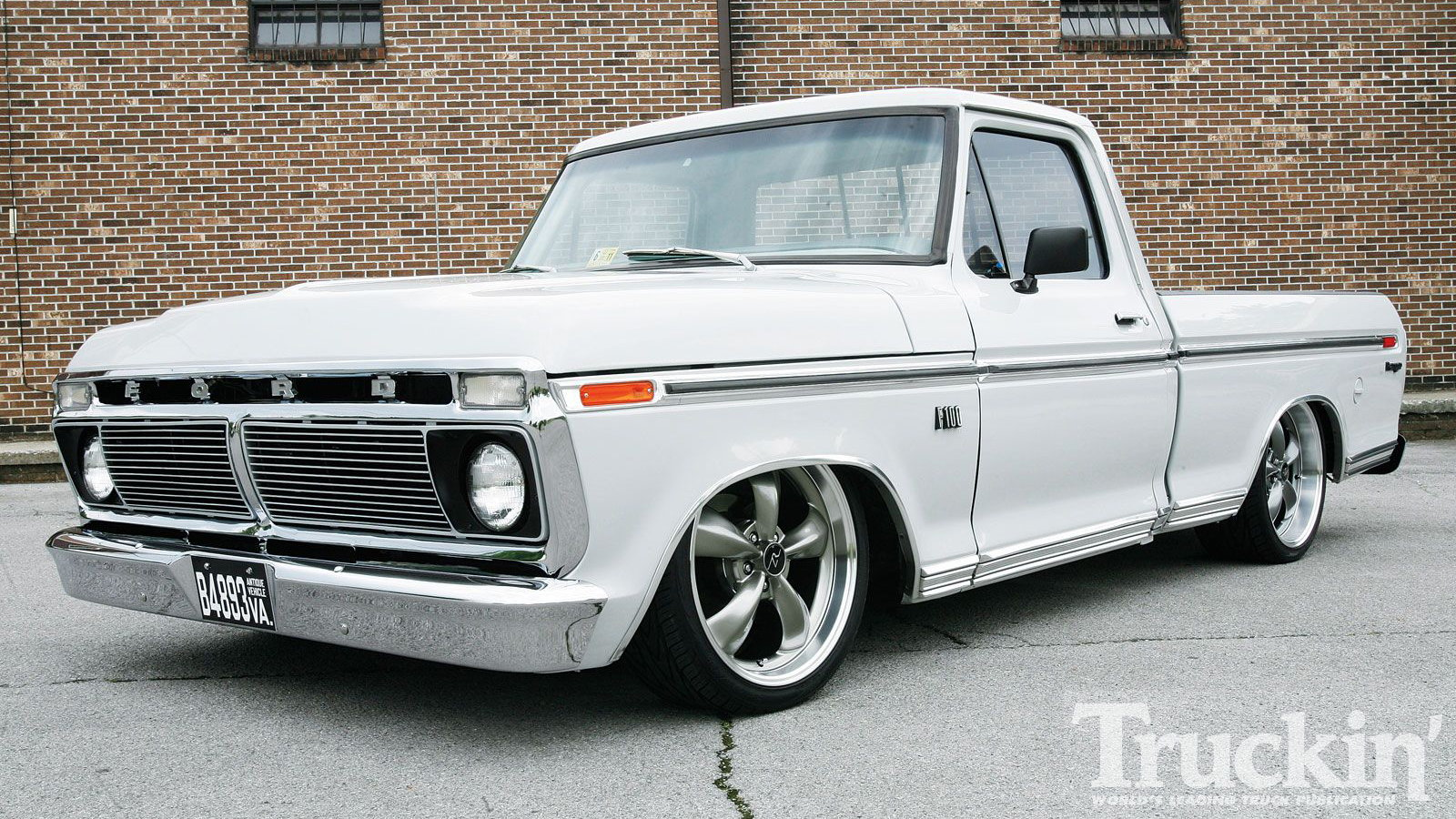 74 F-100: Bought then Built