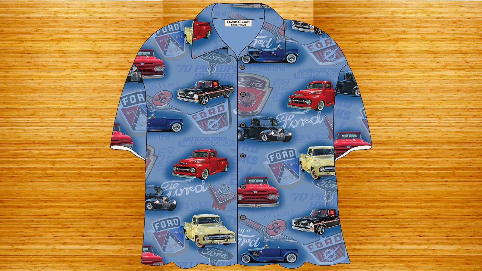 Ford Trucks Hawaiian Shirt