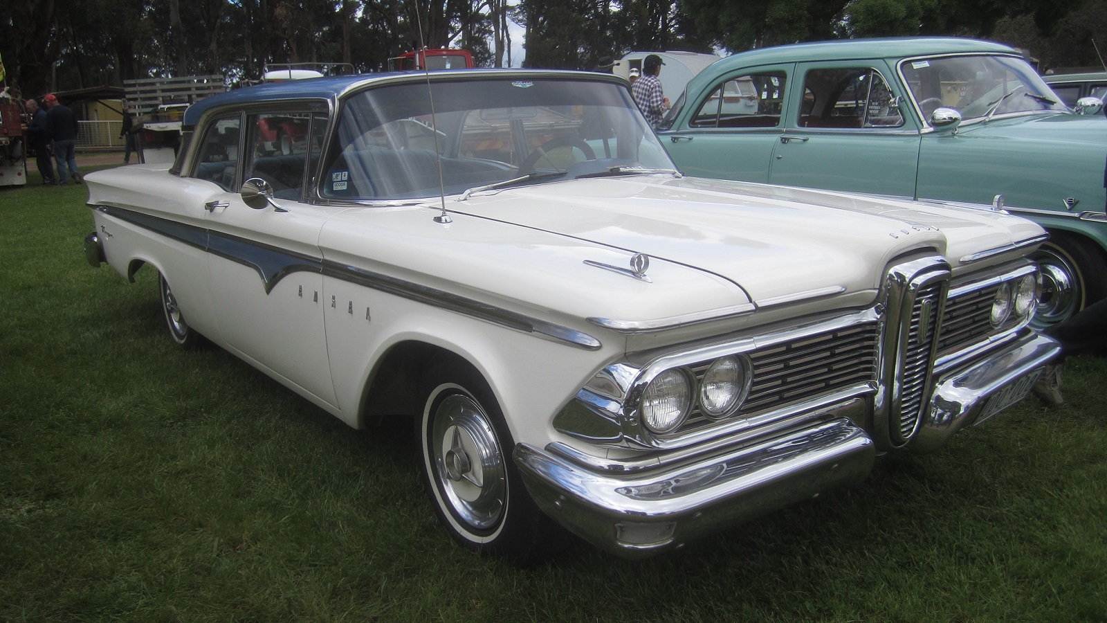 The Ranger name debuted on an Edsel