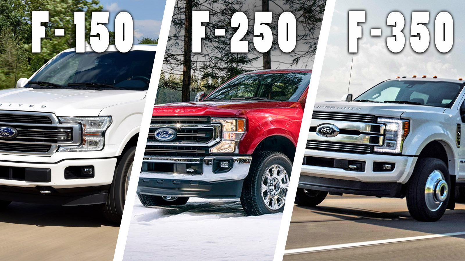 F150 Vs F250 >> F150 Vs F250 Vs F350 Ford Trucks