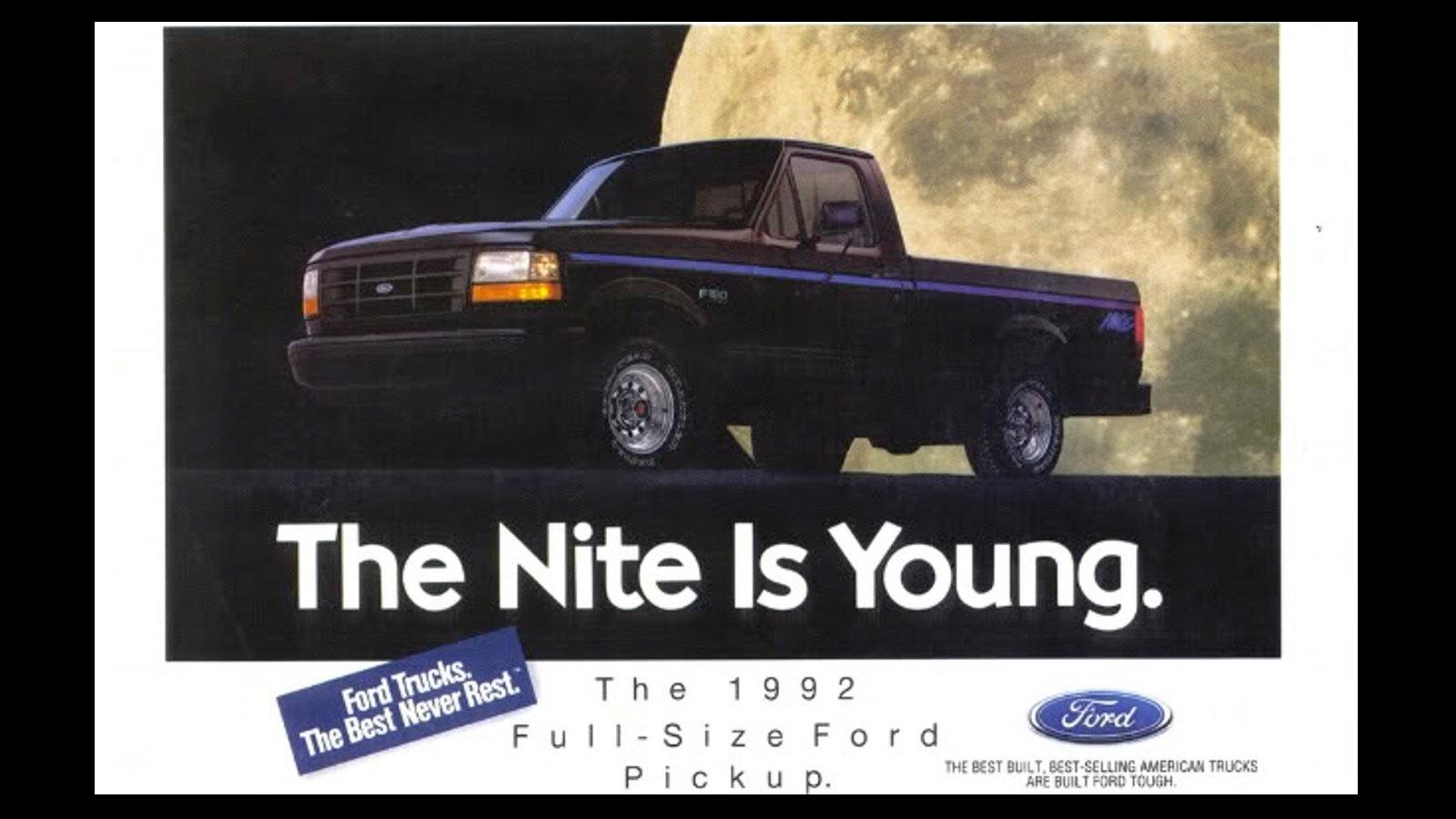 1991-1992 F-150 Nite