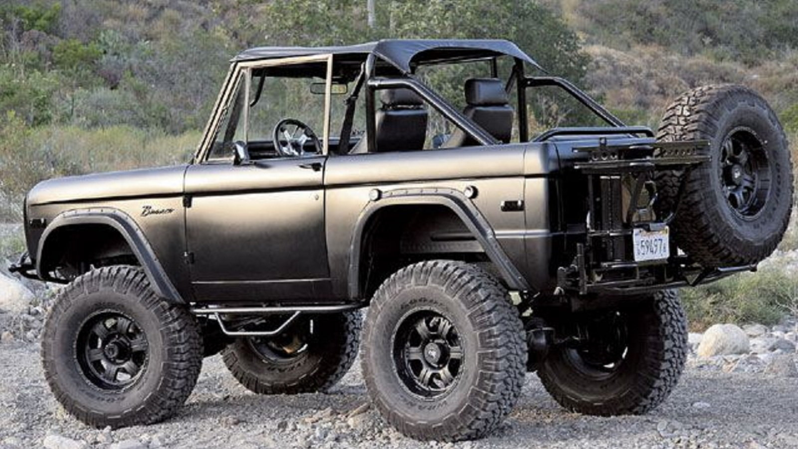 What was South Country looking at with Turley's Bronco?
