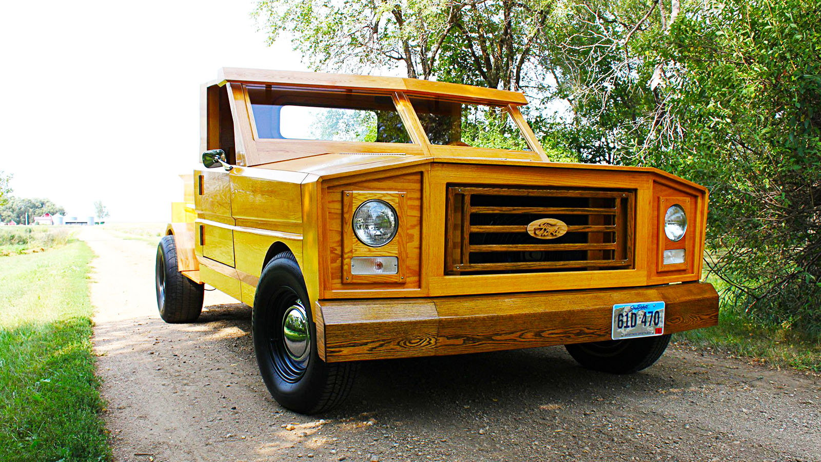 Ford, conversion, bespoke, truck