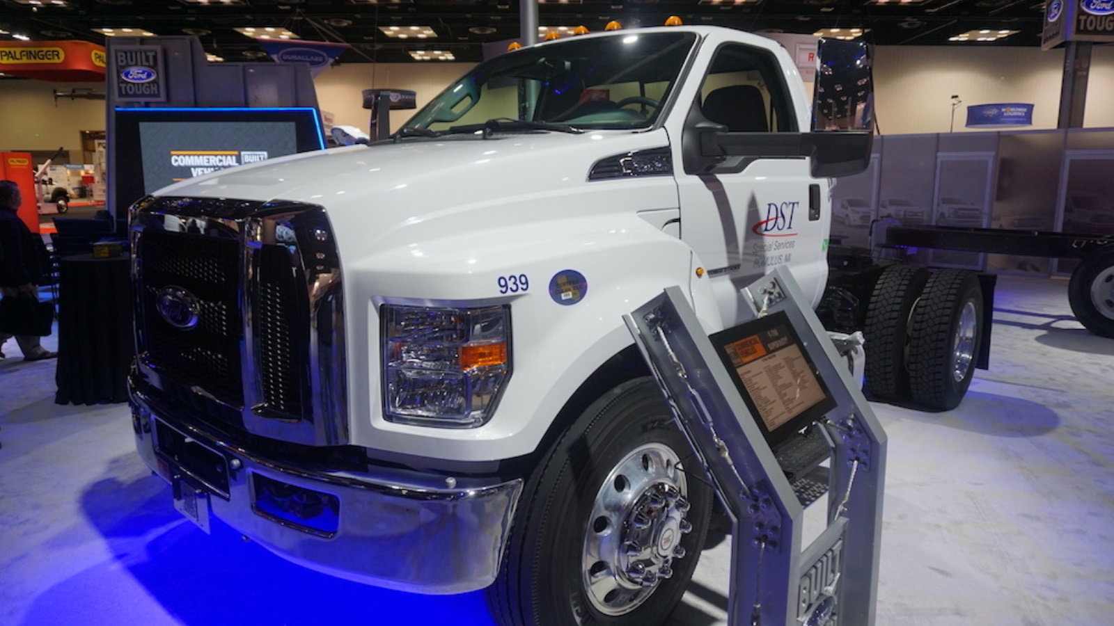 Ford was featured at the 2017 NTEA Work Truck Show