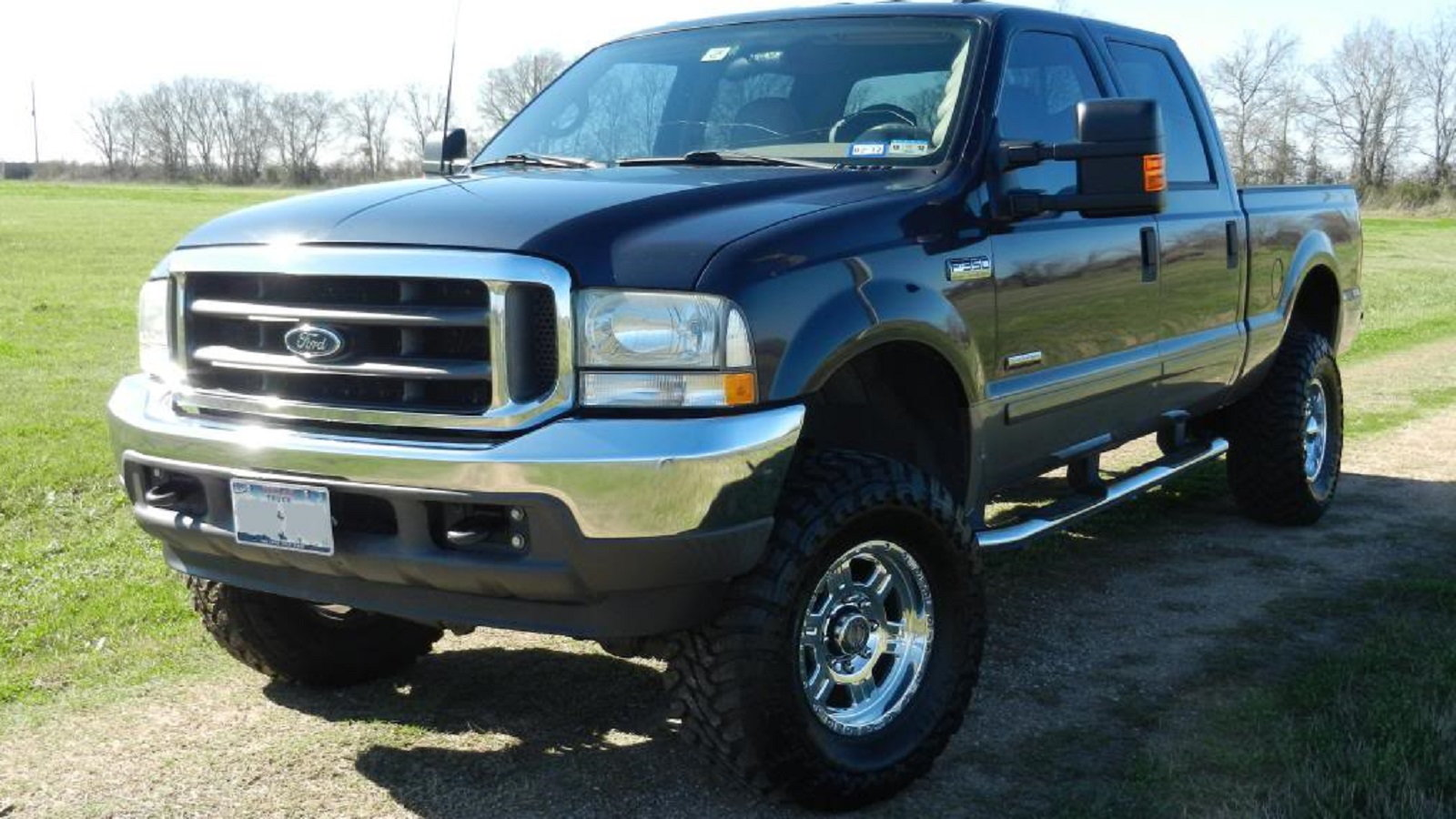 5. Generation 1 Ford F-250 with the 7.3L Powerstroke V8