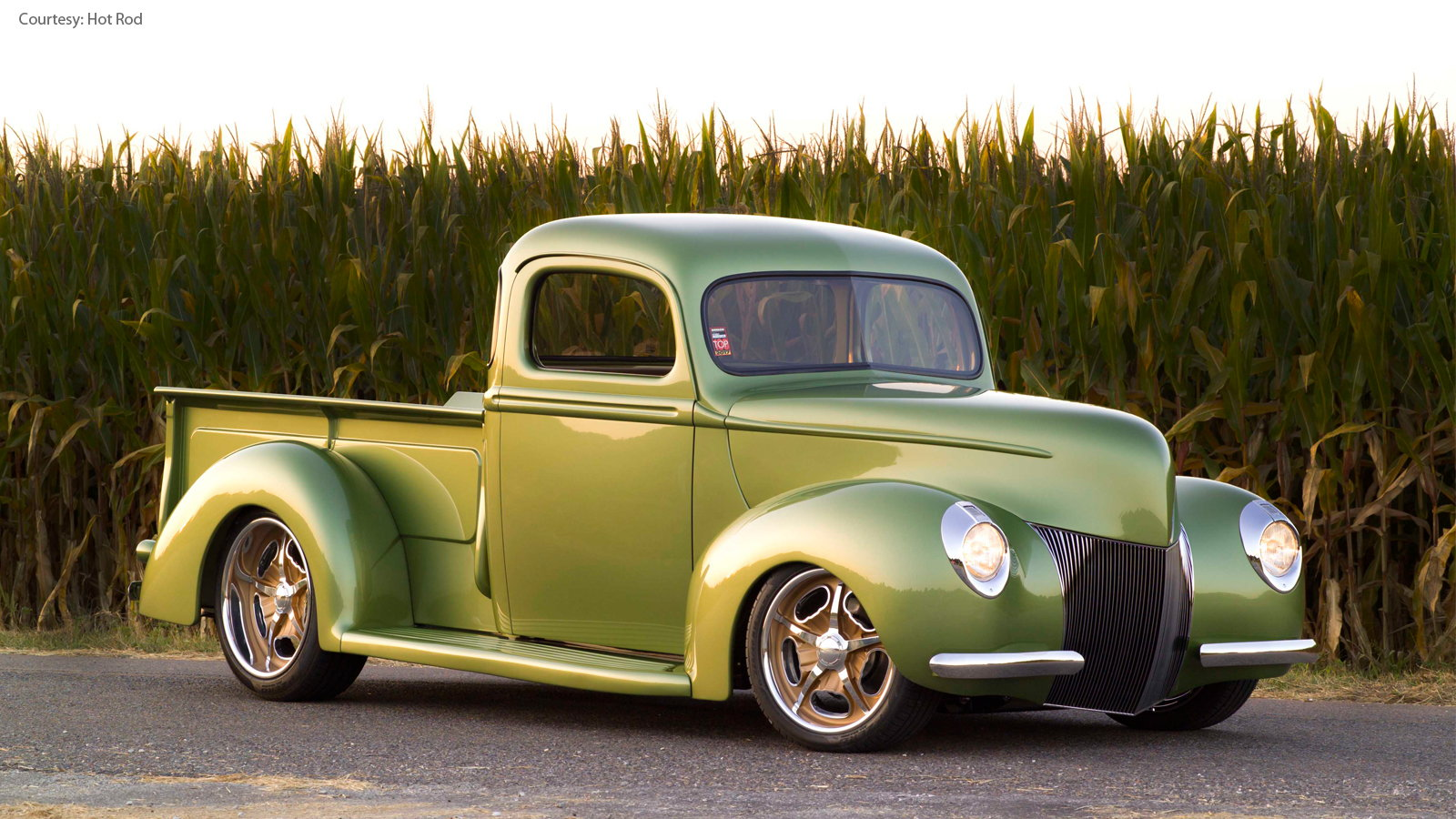 Masterfully Built 1940 Ford Truck