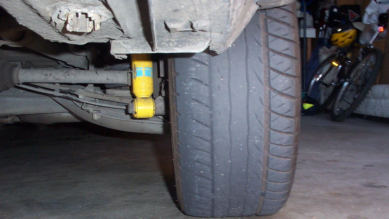 Improper Tire Pressure