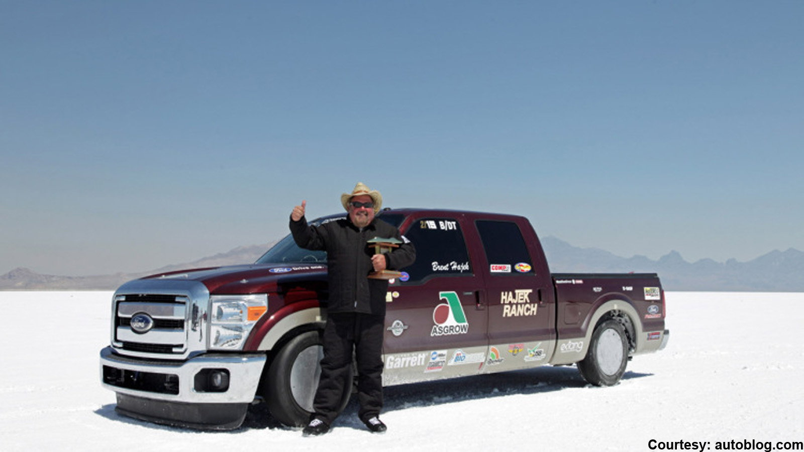 1. Hajek Motorsport's Land Speed Record Holding Super Duty