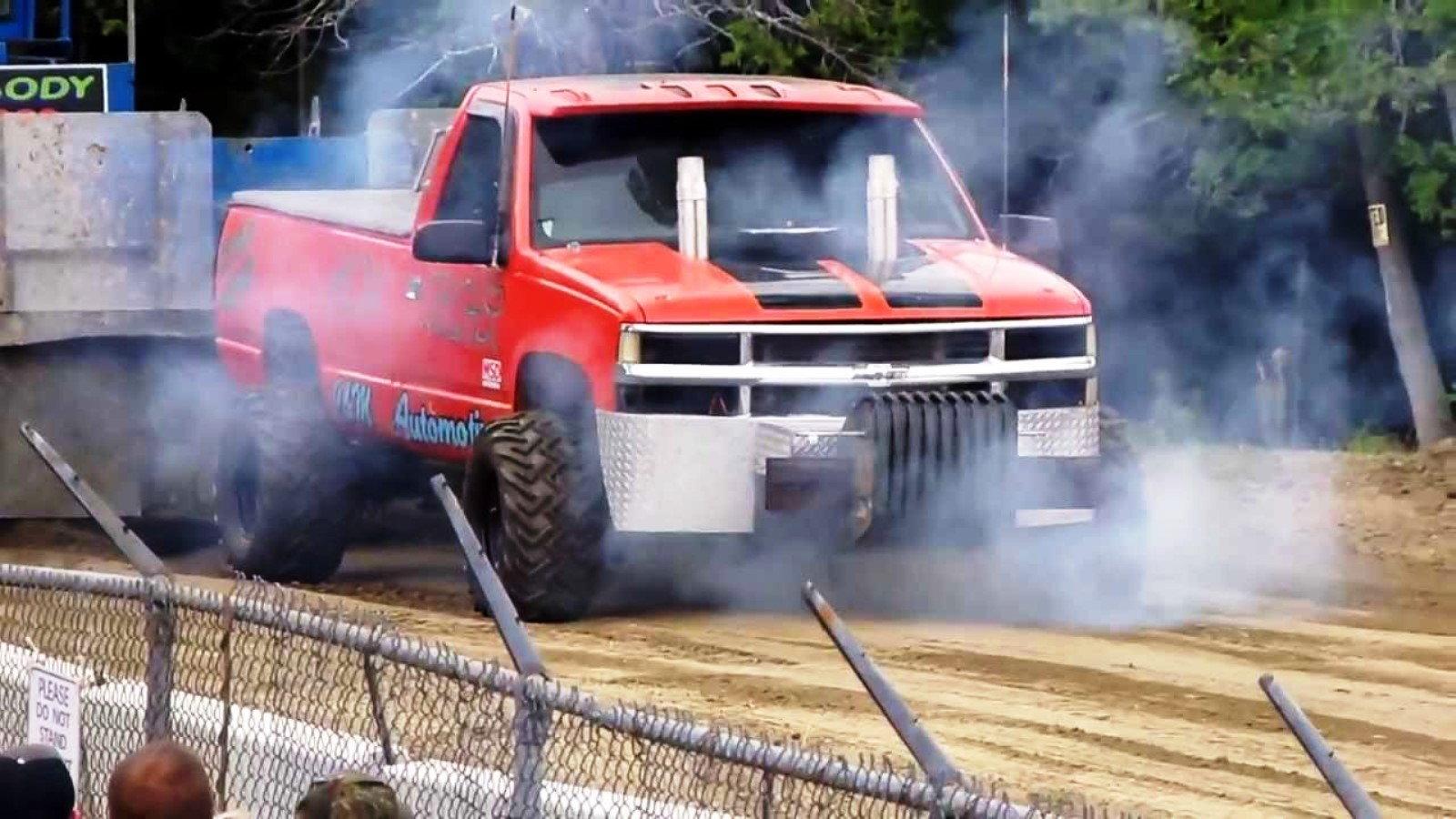Truck Pull Fail