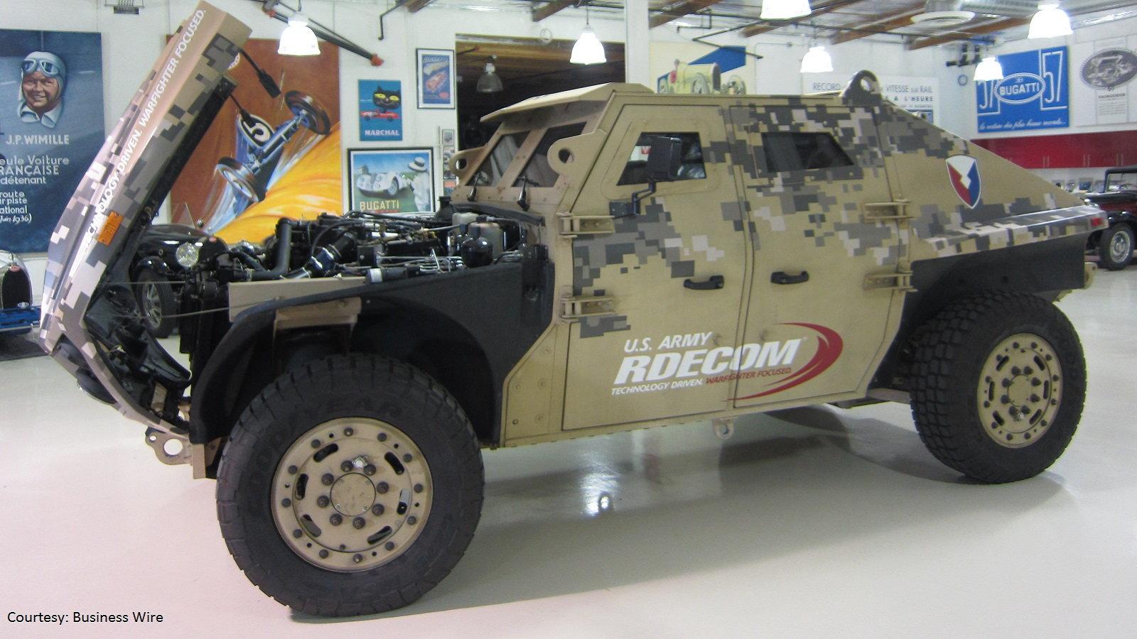 Military Combat Vehicle Armor