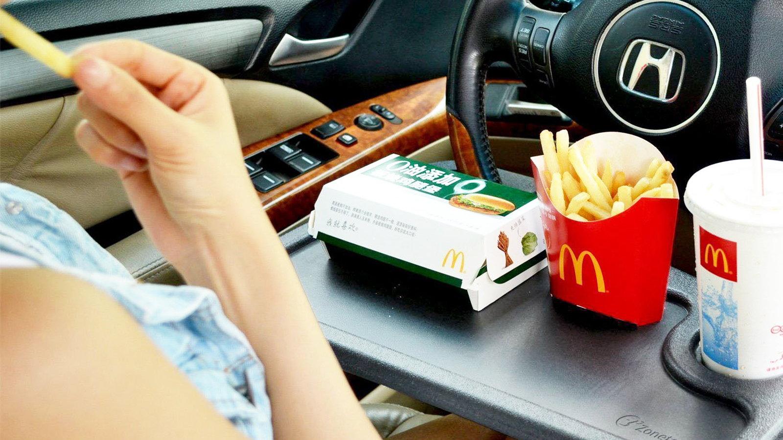 Fast Food Swivel Tray