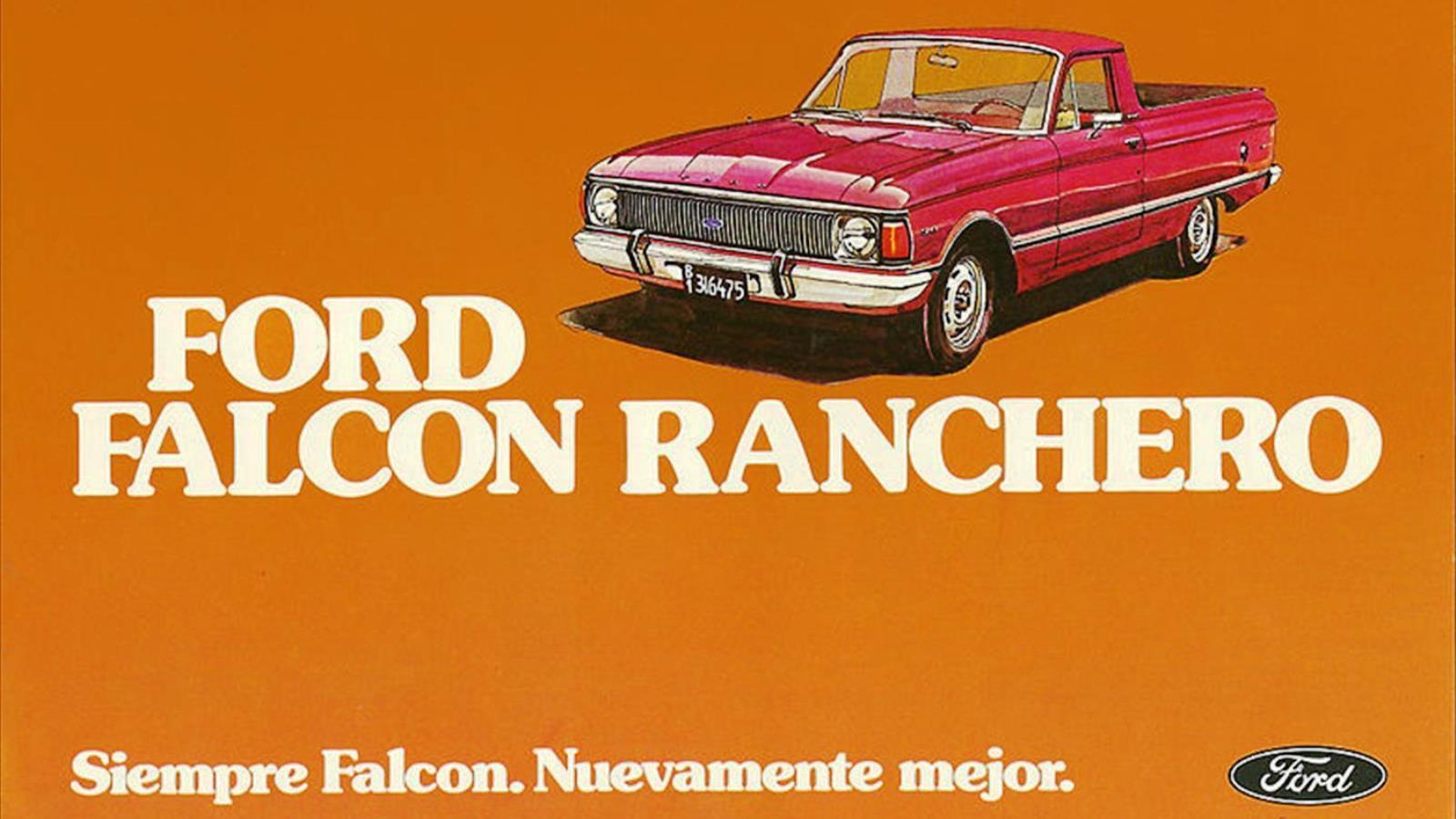 1967-91 Ford Argentina Ranchero