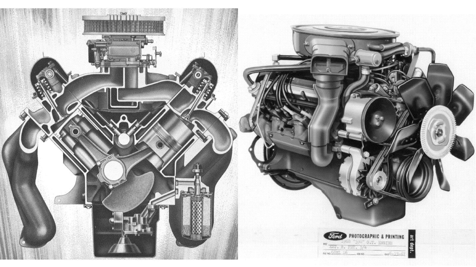 3. Ford 390 FE V-8