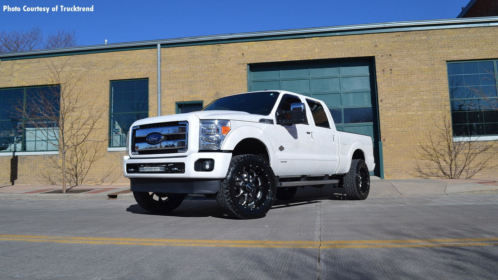 King Ranch F-350 is Minimalism Personified