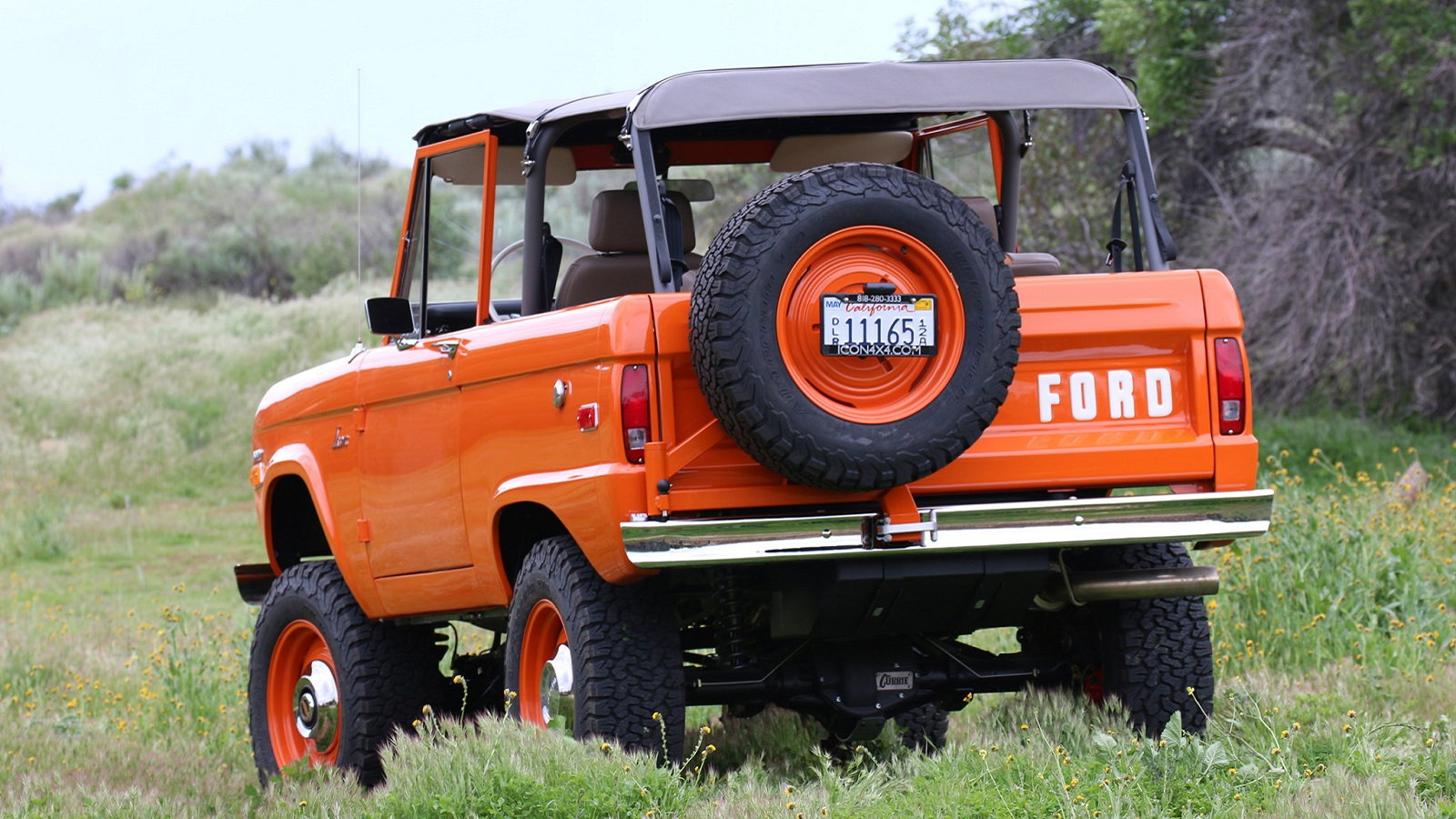Beautiful Icon Bronco Restomod Sold for a Great Cause
