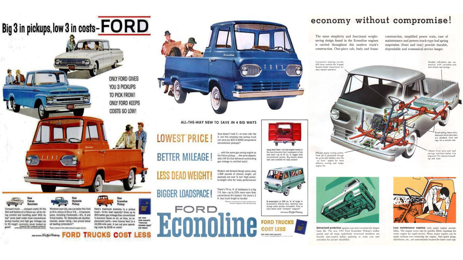 The Innovative Ford Econoline Pickup