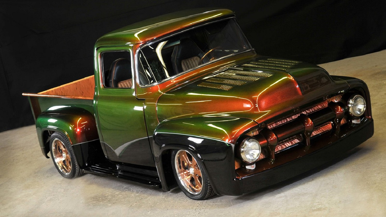 Flawless 1956 Ford F-100 Is a Real TV Star