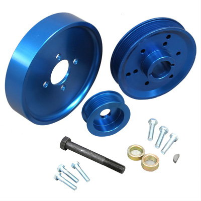Summit Racing Underdrive Pulleys for Modular Engines