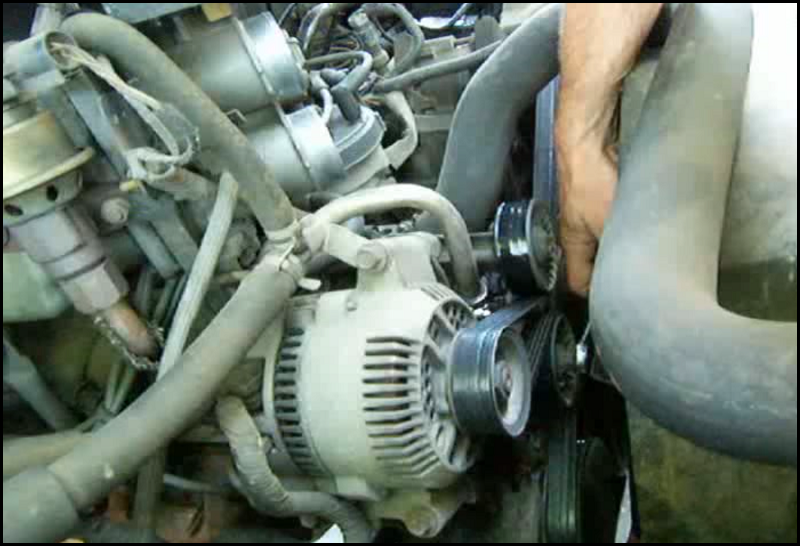 Serpentine Belt Removal