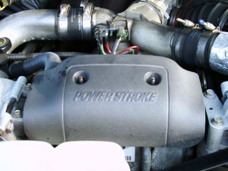 Powerstroke filter cover