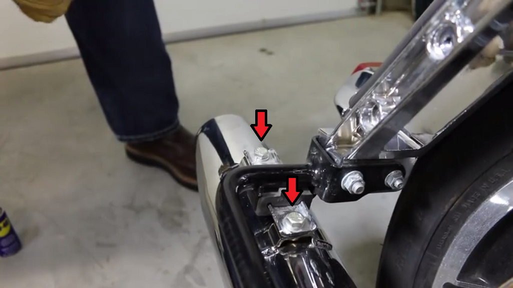 Harley Touring Slip On Exhaust