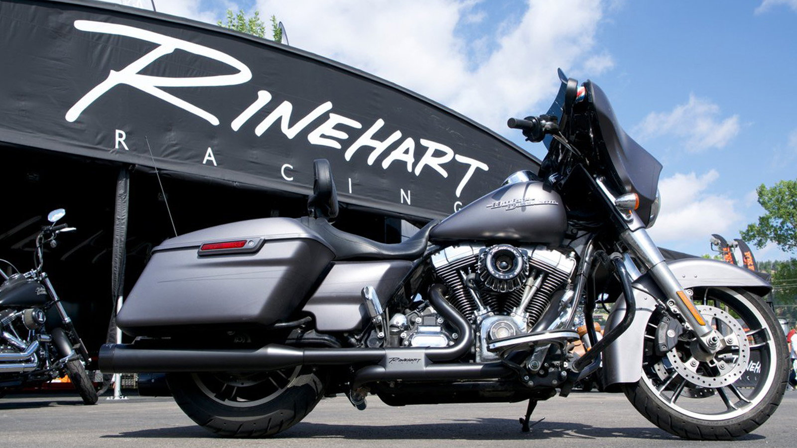 Rinehart Racing Slimline Exhaust System to be Fifty-State