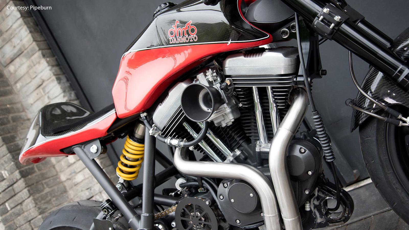 Harley Sportster Racer by DanMoto | Hdforums