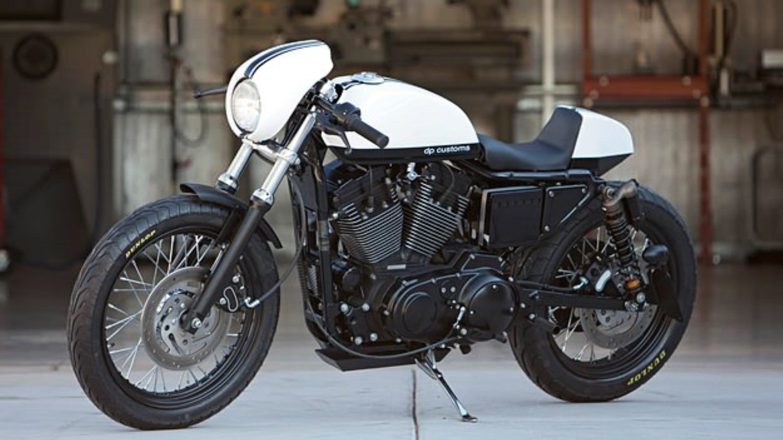 No Grey Areas Here: DP Customs' Sportster 1200