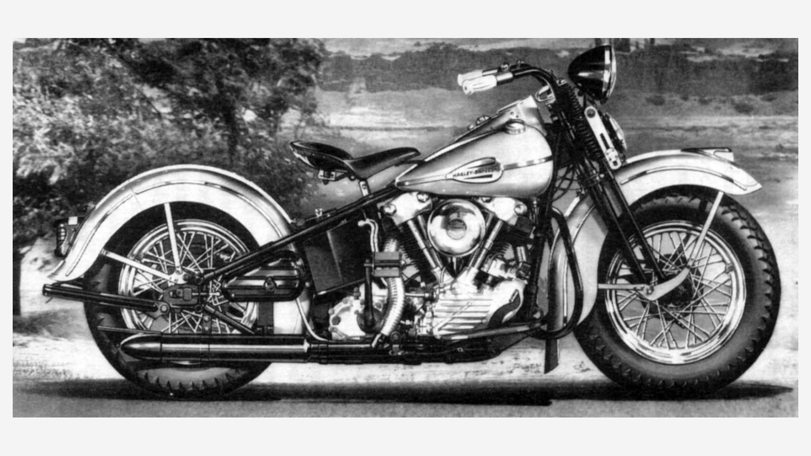 1941 H D Fl With 74ci Knucklehead Old Grand Dad Harley Davidson