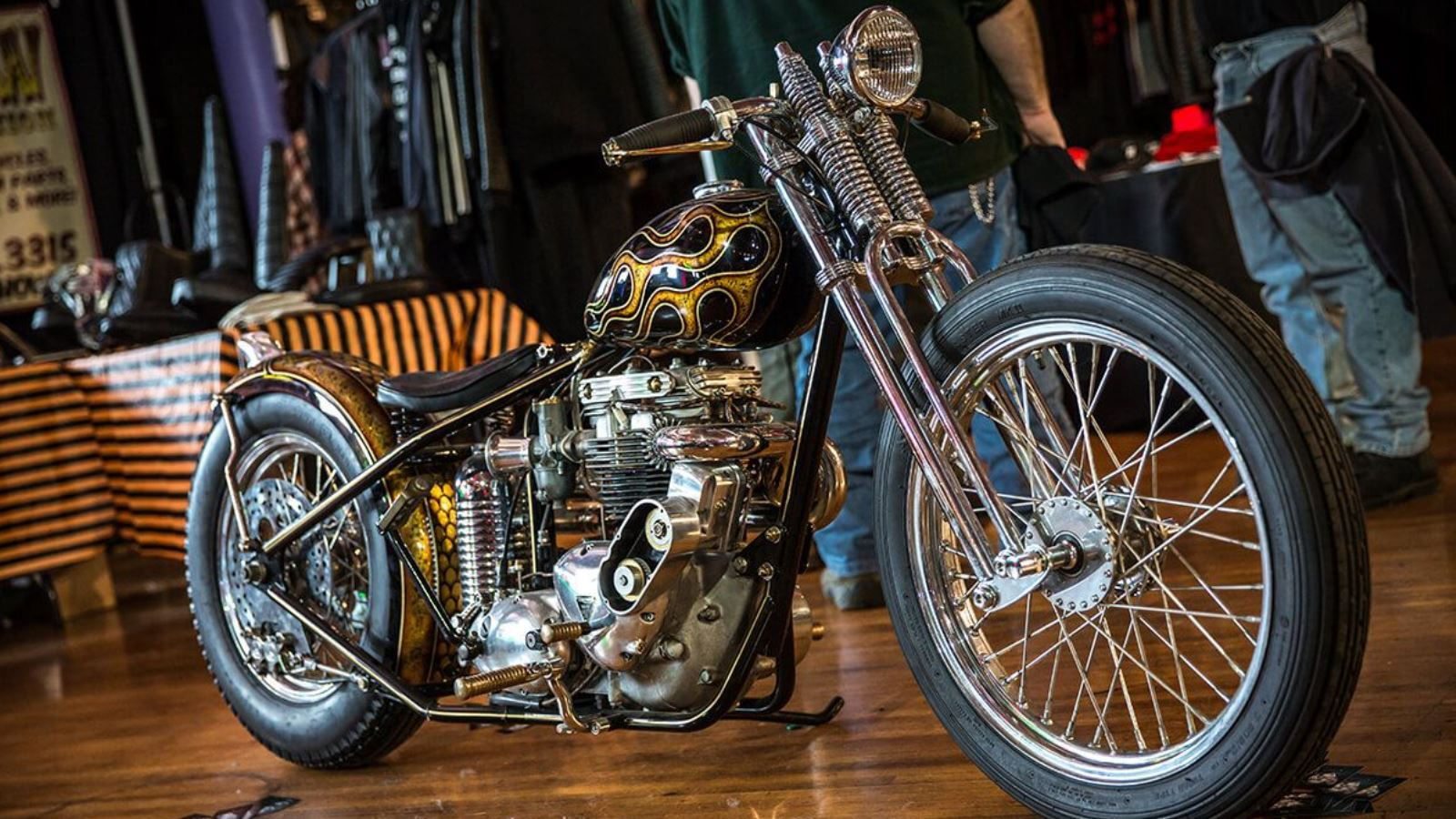The Indoor Invitational Mama Tried Motorcycle Show
