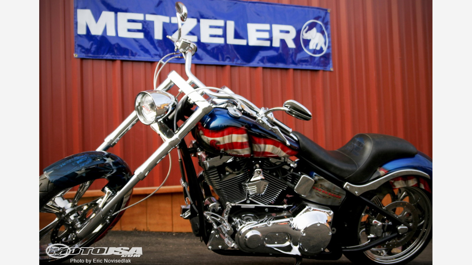 9 More Red White And Blue Harley Custom Paint Jobs Hdforums