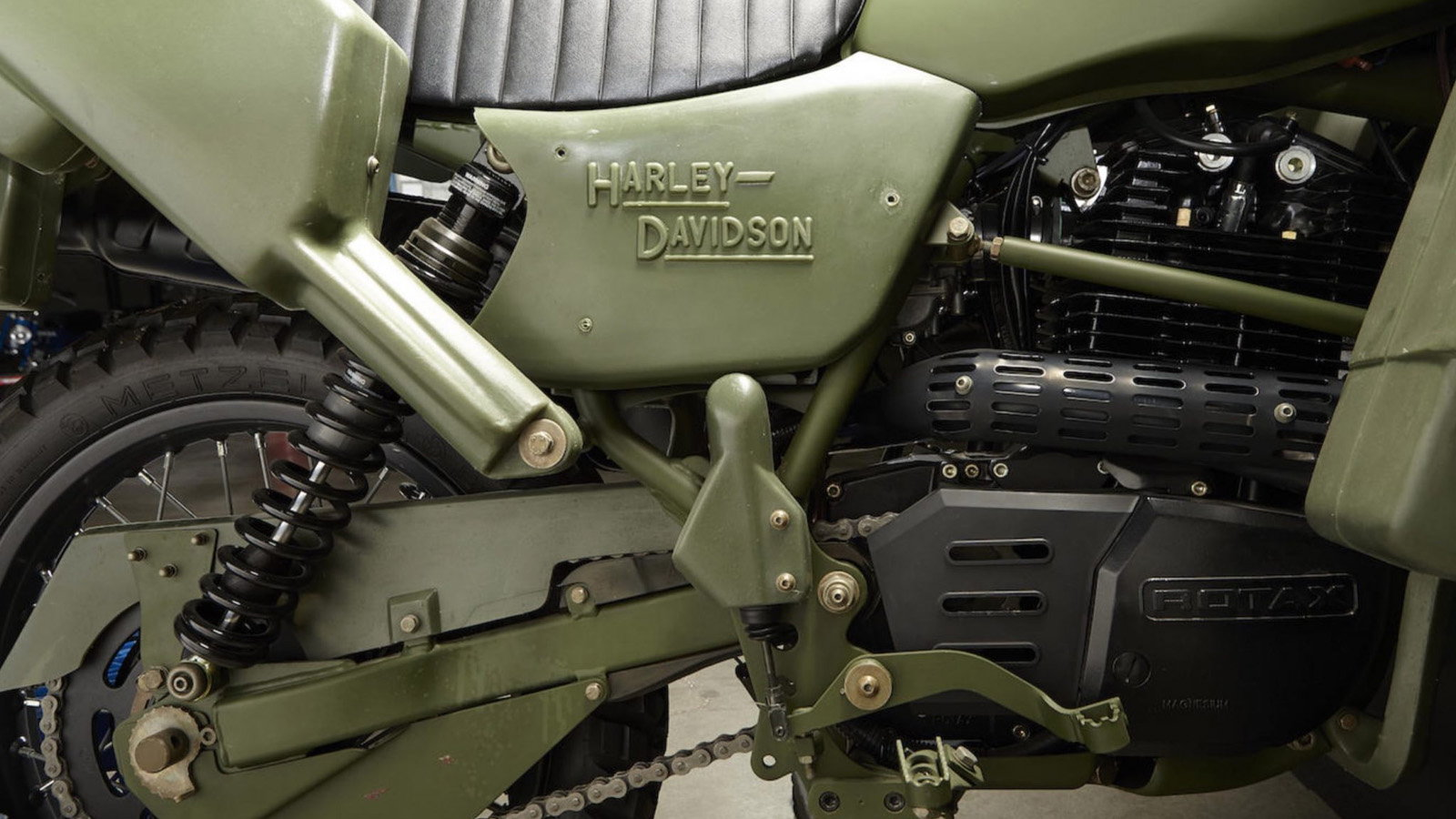 A Complicated History: The Harley-Davidson MT500
