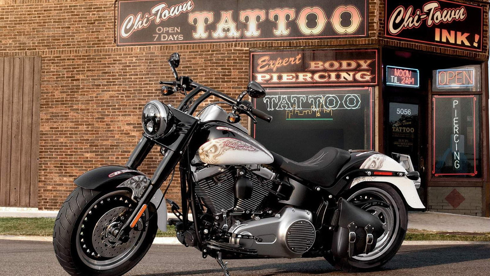 The All Muscle Harley-Davidson Fat Boy is One Popular Ride