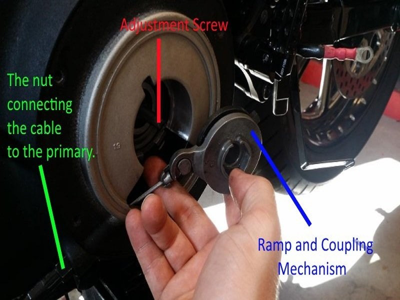 Harley Davidson Sportster How To Replace Clutch Cable
