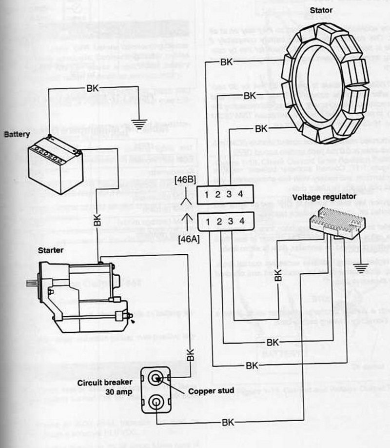 Harley Davidson Softail Electrical Diagnostic Guide Hd S. Wiring Diagram Of Stator And Voltage Regulator. Harley Davidson. 2005 Harley Wiring Diagram At Scoala.co